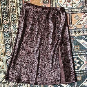 Victoria's Secret Cheetah Midi Skirt